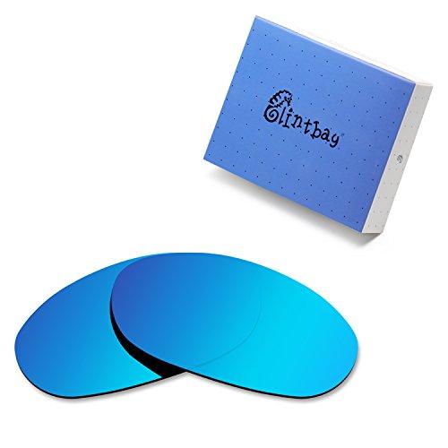 Glintbay 100% Precise-Fit Replacement Sunglass Lenses for Costa Del Mar Harpoon - Polarized Ice Blue Mirror