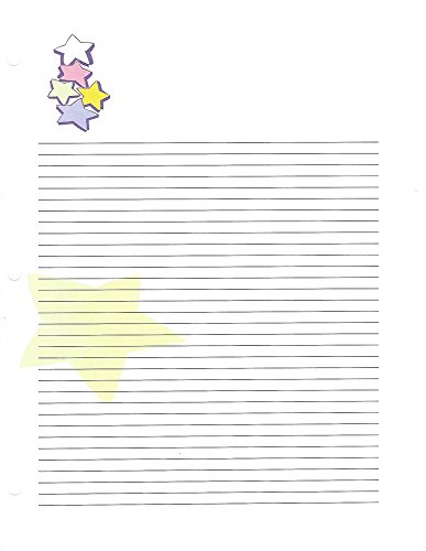 Stars 3 Hole Loose Leaf Paper 50 Sheets by Stars Loose Leaf Paper