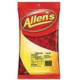 Allen's Red Frogs Alive Lollies Bulk Bag, 1.3 Kilograms