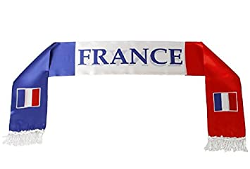 a4f069eaf16 Echarpe supporter France - Match Foot Accessoire - Tricolore - 079 ...