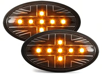 intermitentes laterales LED Mini Cooper/S/JCW/R50/R53 02-06_: Amazon.es: Coche y moto