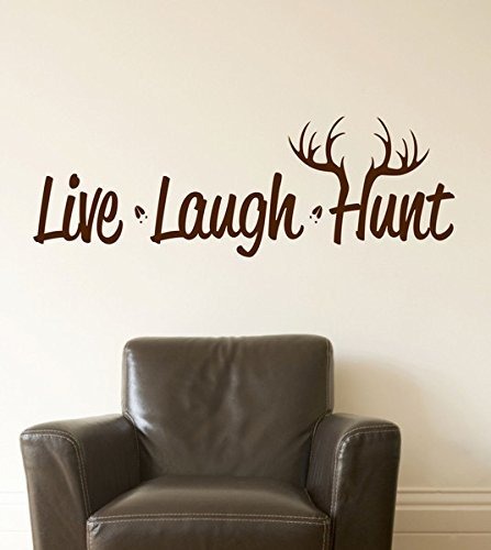hunting-decor-man-cave-live-laught-hunt-vinyl-wall-decal