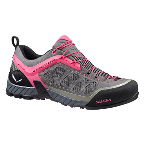 Ws Pinky Pewter Shoes Firetail 3 Grey Low Women's Salewa Rise Hiking zpwp5vfq