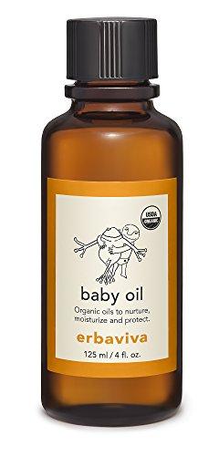 Erbaviva Baby Oil, 4 oz -
