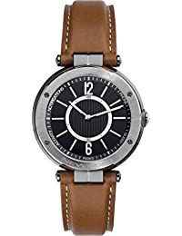 Mens Connected Watch Michel Herbelin - 2017.GC/G14GO - NEWPORT CONNECT - Brown and Black