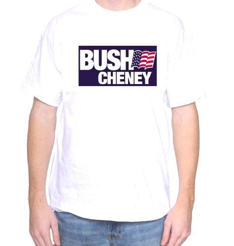 Mytshirtheaven T-shirt: Bush Cheney - large, white