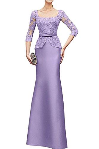 Etuikleider Abendkleider Lilac Spitze Kleider Braut mia Brautmutterkleider La Suessig Knielang Lilac Jugendweihe Promkleider 1FwxqP