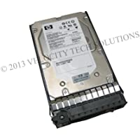 HP 517350-001 300GB 15K 3.5 6GBps Dual Port SAS Hard Drive in Tray