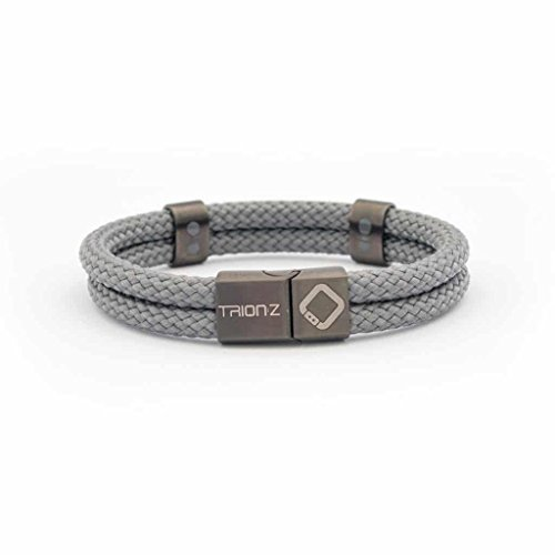 Magnetic Wrist Bracelet (Trion:Z Zen Loop Duo Magnetic Ion Therapy Bracelets with Patented ANSPO Technology for Joint Pain Relief Arthritis Carpal Tunnel Knee Wrist Pain and Sporting Injury Wristband Men Women - Perfect Gift)