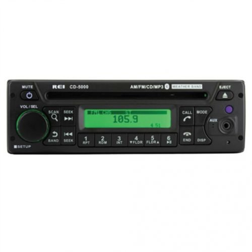 All States Ag REI Radio CD-5000 AM/FM/CD/MP3/WB/PA Stereo...
