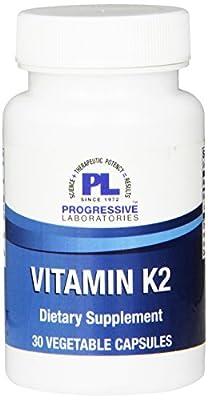 Progressive Labs Vitamin K2, 30 Count