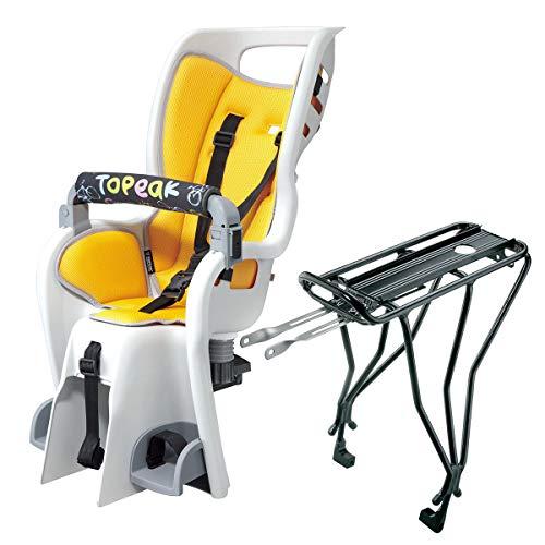 Topeak BabySeat II Bicycle Seat w/29in Wheel Disc Rack - TCS2207