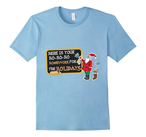 Mom Dad And Baby Costumes (Mens Christmas Costume For Teacher. Funny Shirt For Dad/Mom. XL Baby Blue)