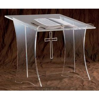 Acrylic Table Top Lectern -