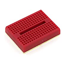 Mini Breadboard Mini Self-Adhesive (RED) 2pcs