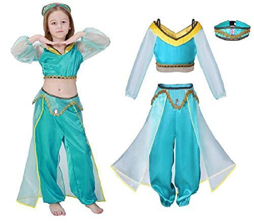 Arabian Princess Costume 3 Piece Set from Chunks of Charm -
