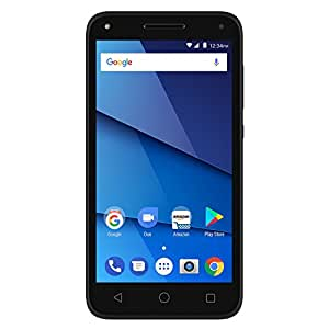 BLU Dash L5 LTE D0090WW Unlocked GSM (AT&T + T-Mobile) Dual-SIM Android Phone - Black