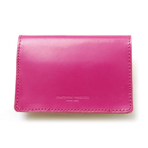 ブライドル ネーム カードケース ピンク BRIDLE NAME CARD CASE pink CRAFTWORK PRODUCTS B0091OV1PO