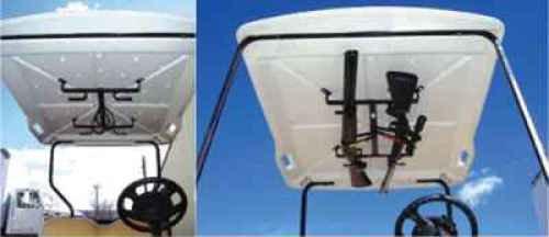 Miller Golf Cart Gun Carrier 2-Gun Roof Mount