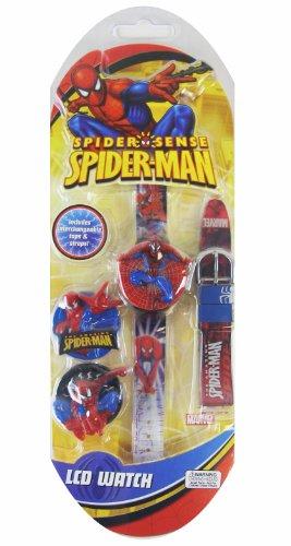 Waltham Spiderman Boys LCD Watch