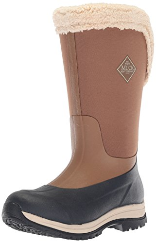 Muck Boot Women's Apres Tall (15'') Work Boot, Otter/Total Eclipse, 8 M US by Muck Boot