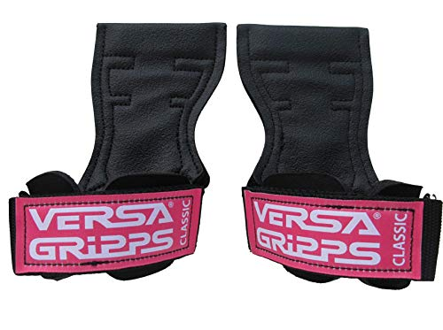 Versa Gripps Classic Authentic. The Best Training Accessory in The World. Made in The USA (CL-Pink Label, Medium/Large)