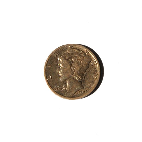 1945 S United States of America Mercury Dime. World War II Ends Coin Very Good Details