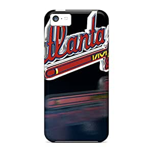Perfect Cell-phone Hard Cover For Iphone 5c With Unique Design Nice Atlanta Braves Pictures AnnaDubois