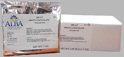 Chocolate White Mousse - White Chocolate Mousse (Cold Process Instant Mix)