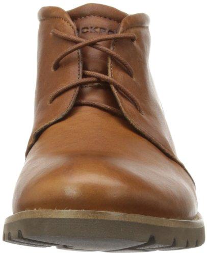 Rockport Charson - Botas chukka de cuero hombre marrón - Dark Tan