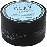 SODIAL Fashion Matte Finished Hair Styling Clay Daily Use Mens Hair Clay High Strong Hold Low Shine Hair Styling Wax 100Ml