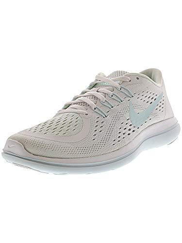 Nike Women's Flex 2017 RN Running Shoe (6 B(M) US, White/Glacier Blue-Blue Tint)