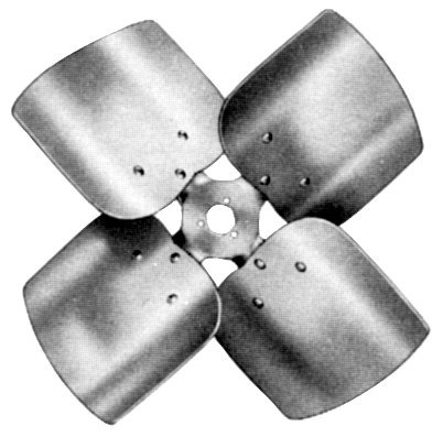 LAU Industries/Conaire 60719001 4 blade, CCW 14 dia., 27 pitch propeller