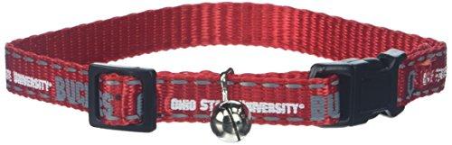 Pet Goods Collegiate 3/8-Inch Cat Safety Collar, Ohio State University