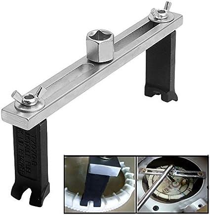 Cl/é pour couvercle de r/éservoir cl/é /à bouchons pour r/éservoir de carburant /à 3 m/âchoires Cl/é /à molette r/églable pour pompe /à carburant