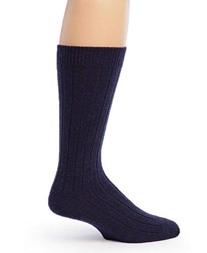 mens 100 wool dress socks - 9