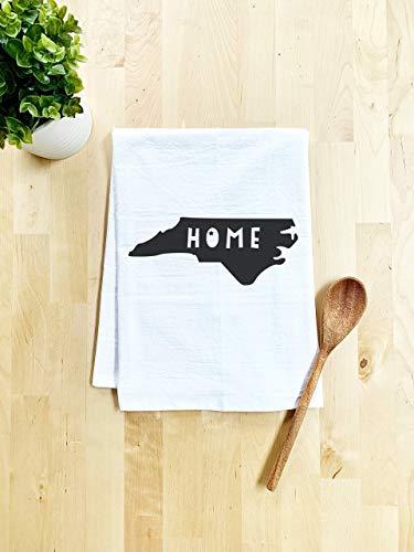Sweet Dishcloth/Tea Towel ~ North Carolina Home State ~ Kitchen Cloth ~ White