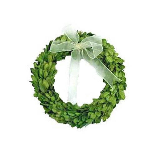 (Preserved Boxwood Round Wreath 8