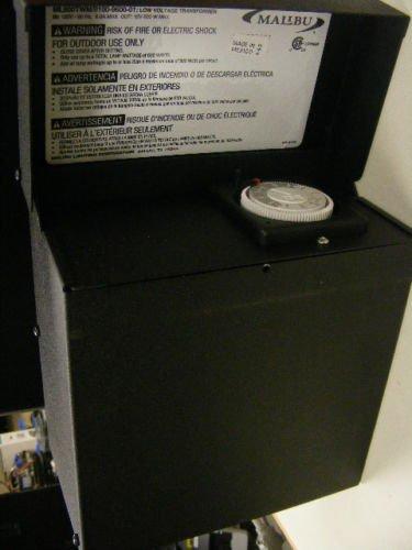 MALIBU 600 WATT TRANSFORMER POWER SUPPLY PACK LANDSCAPE LIGHTING- ML600TWM by Malibu C