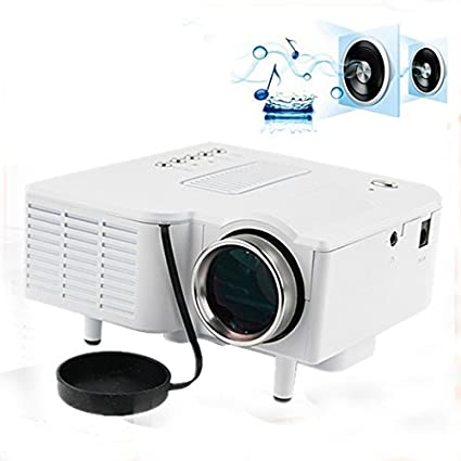Amazon.com: DMYI UC28 Mini Projector LED Portable Projector ...