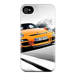 WjQxYzl1520xChoC Saraumes Awesome Case Cover Compatible With Iphone 4/4s - Orange Mini