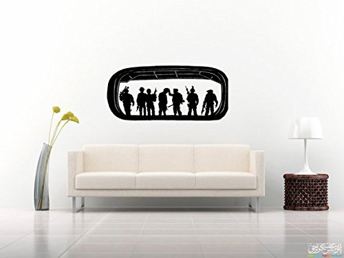 Navy Seals Decal Navy Seals Sticker Seal Trident Navy's Sea, Air, Land Teams Special Operations Force G4045