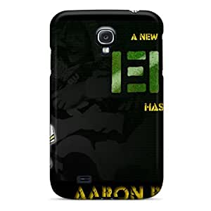 Excellent Galaxy S4 Case Tpu Cover Back Skin Protector Aaron Rodgers Nfl