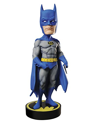 NECA DC Comics - Head Knocker - Batman Toy (Retro Bobble Head)