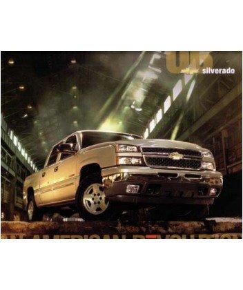 2006 Chevrolet Silverado Sales Brochure Literature Book Advertisement Options