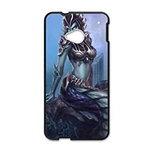 League of Legends(LOL) Cassiopeia HTC One M7 Cell Phone Case Black DIY Gift pxf005-3581782