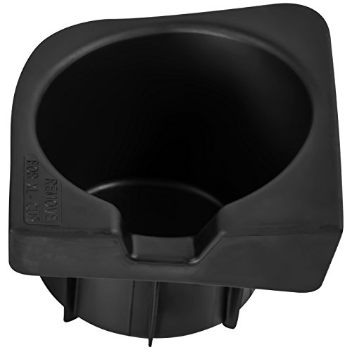 Cup Holder Insert for Select Toyota Tacoma Vehicles Right Hand Passenger Side -Replaces 66992-04012 Front Center Console Storage