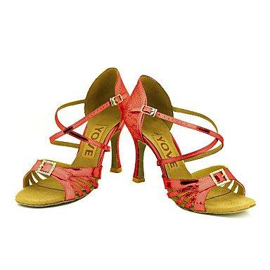 Sølv Rød Guld krænger sort tilpasselig Dansesko Sølv Personlig latino Blå Salsa fU7wnEqP