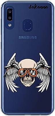 dakanna Funda Compatible con [Samsung Galaxy A20e] de Silicona ...