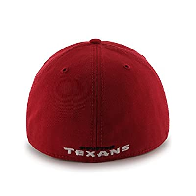 NFL Houston Texans Franchise Fitted Hat, Large, Red